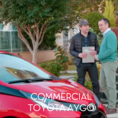 COMMERCIAL TOYOTA AYGO